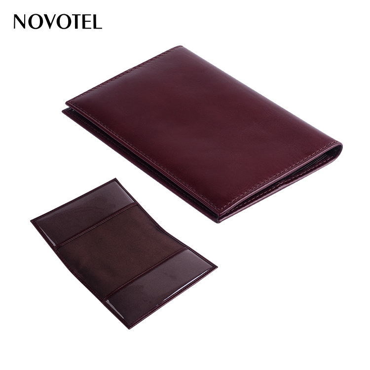 wholesale personalized custom logo genuine leather passport cover
