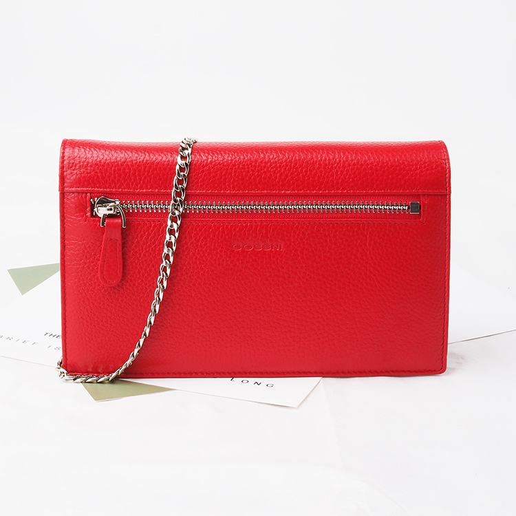 Red pebble Leather wholesale luxury  Shoulder Bag