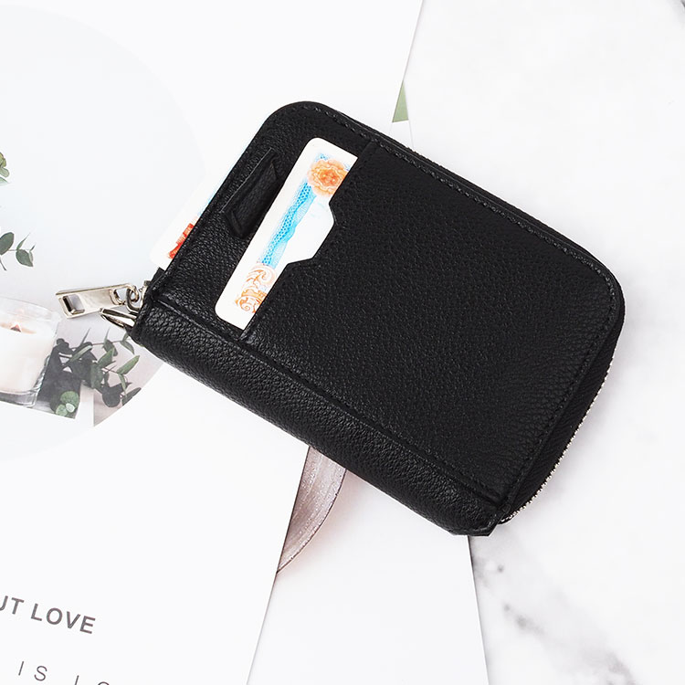 RFID Blocking Custom Leather alabama card phone wallets for men