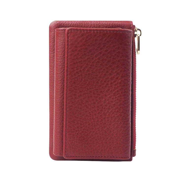 Promotion Genuine Leather Car Key Case Wallet Key Holder Bag Key Holder Organizer