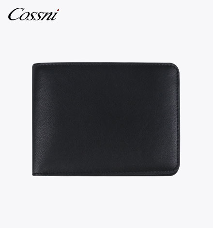 rfid genuine leather mens pocket money thin wallets