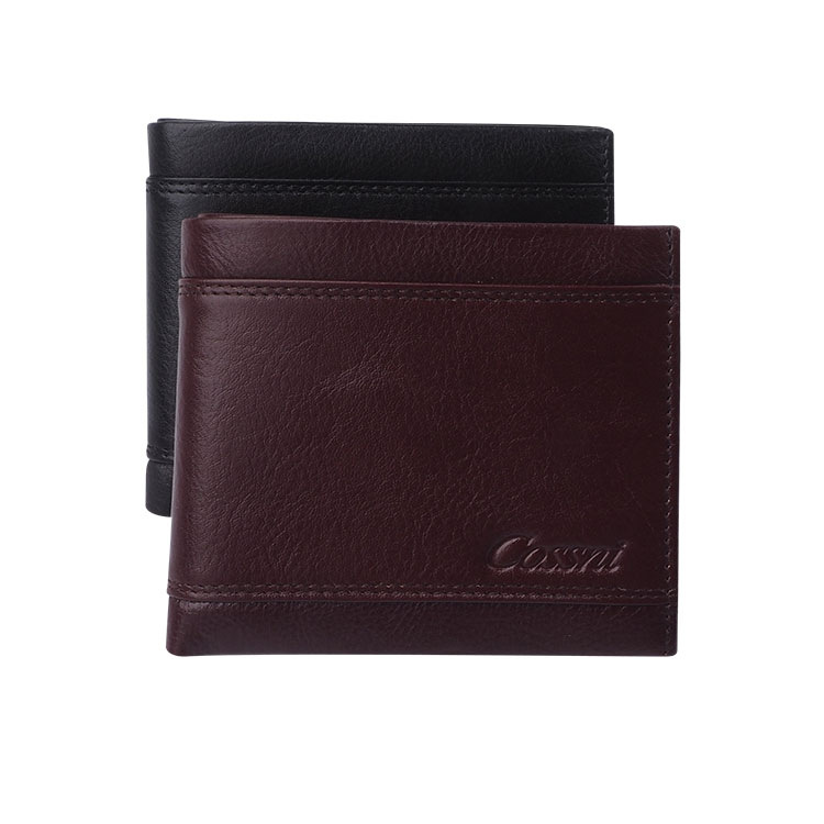 Brand COSSNI Leather Mens Sale Wallet Minimal Kit