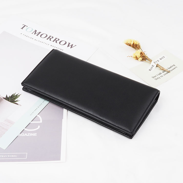 Cossni high quality PU leather long wallet for men