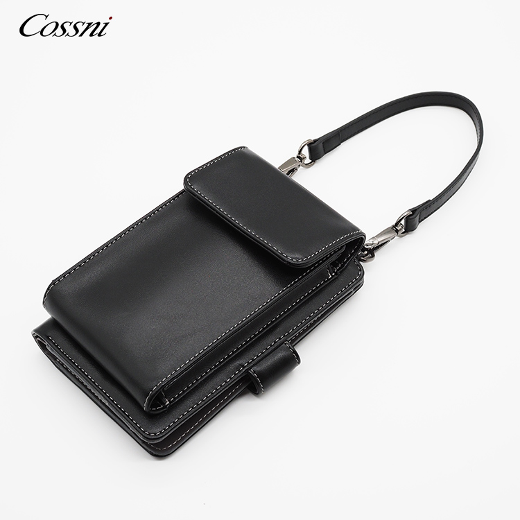 2020 napa leather simple design phone bag, luxury fashion phone bag