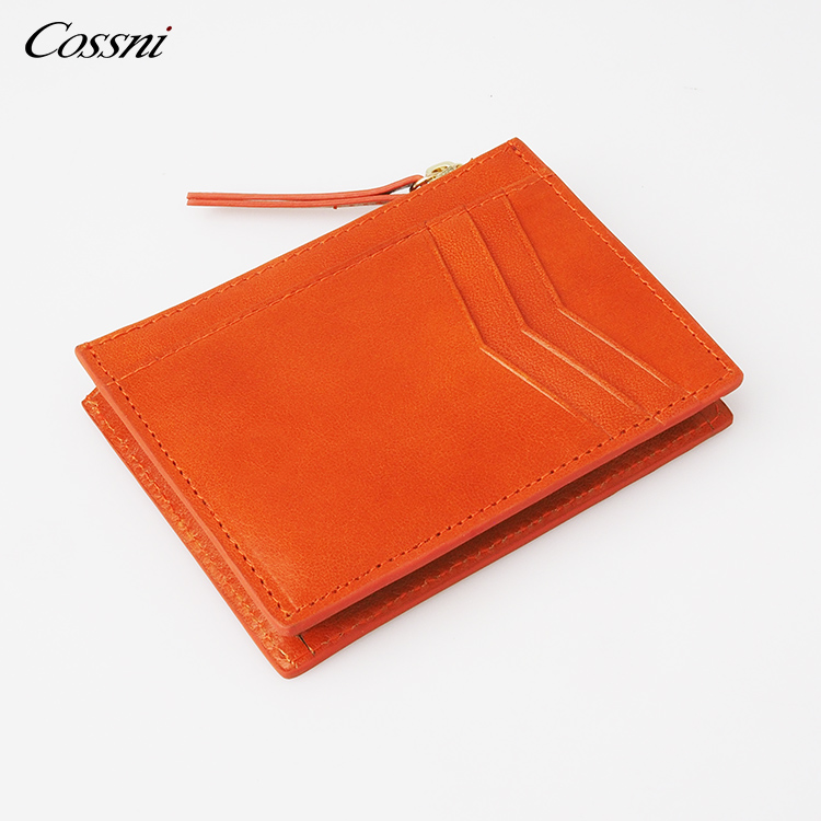 2021 new Custom Coin Purse Vintage Genuine Leather Wallet