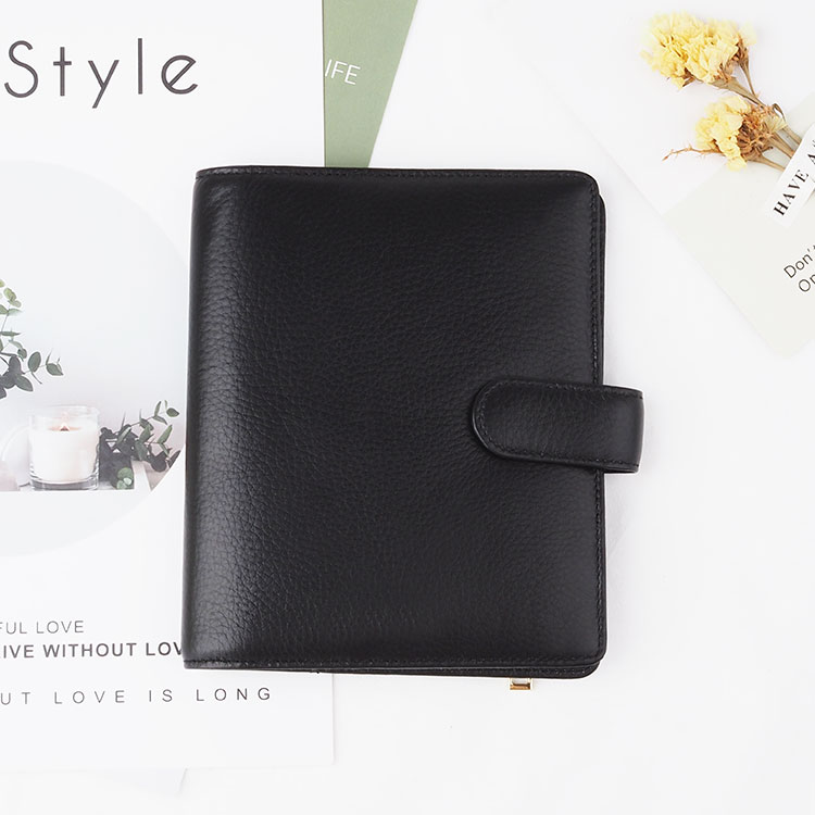 Fashion Brand 100% Leather Best Design Black Bag