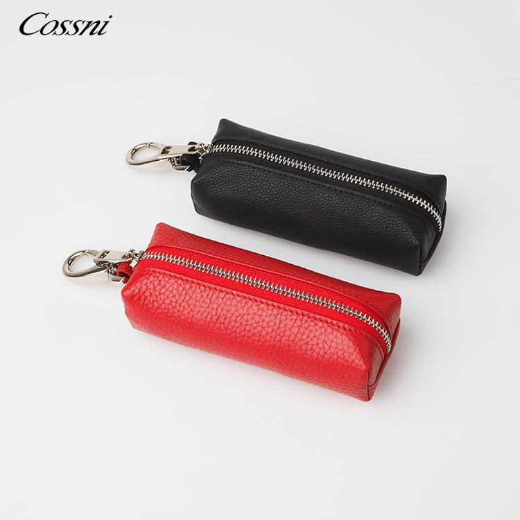 Wholesale Genuine leather High Quality KeyChain Holder Car Key Case Coin Pouch handbag